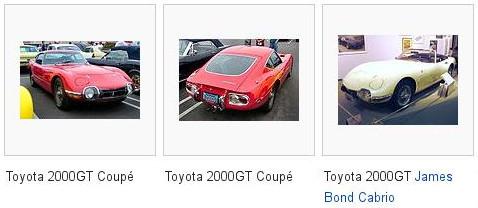 50 jahre toyota 2000 GT