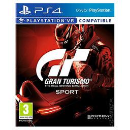 Gran Turismo Sport PS4-Cover