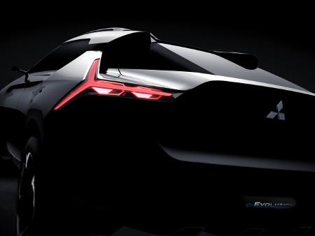 Teaser: Mitsubishi e-Evolution Konzept