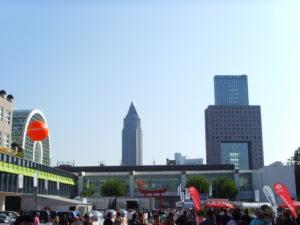 Blick von der IAA 2009, Foto aus Eigenbestand