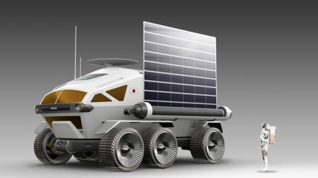 Toyota und JAXA: Studie eines Mondfahrzeugs fuer 2029