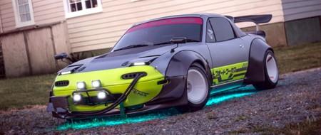 Cyberpunk Mazda MX-5